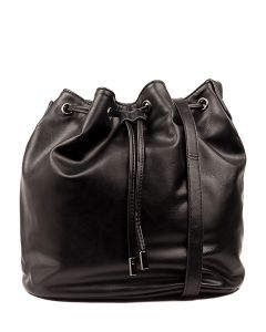 ROSIA BUCKET BAG IL BLACK SMOOTH