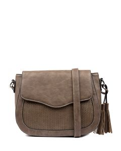 OLANT SADDLE BAG TAUPE