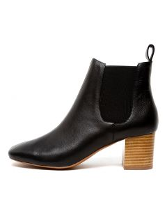 CHAR BLACK NATURAL HEEL LEATHER