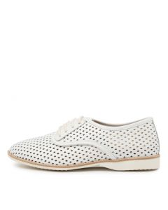 DERBY PUNCH WHITE LEATHER