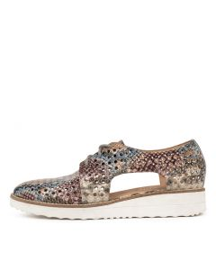 ONSTAGE PINK MULTI WHITE SOLE PYTHON