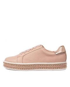 PATE NUDE ROSE GOLD LEATHER