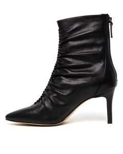 BLANCH BLACK LEATHER