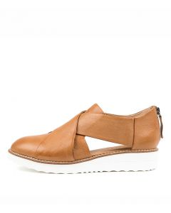OTHO DK TAN WHITE SO LEATHER