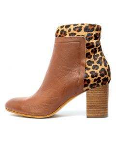 URARANA COGNAC OCELOT LEATHER PONY