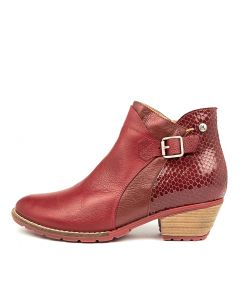 DANIELA RED LEATHER